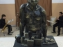Exposición de escultura de Indalecio Pérez